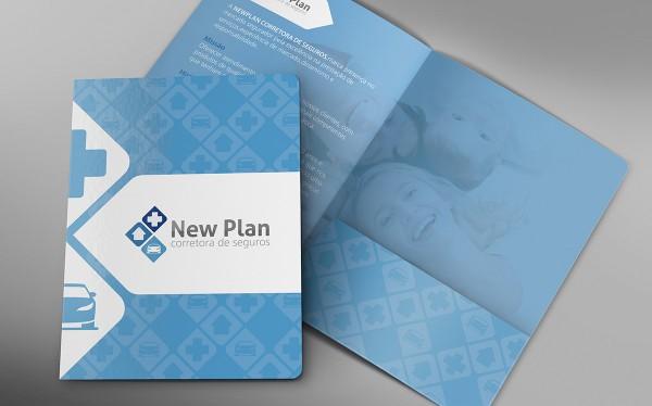Identidade Visual: New Plan