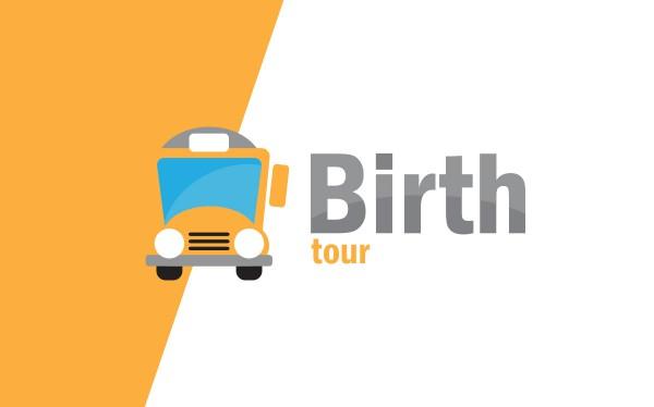Identidade Visual: Birth Tour