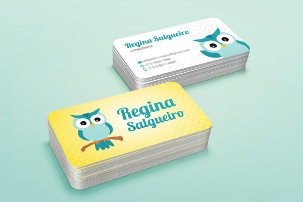 Cartão de Visita: Regina Salgueiro